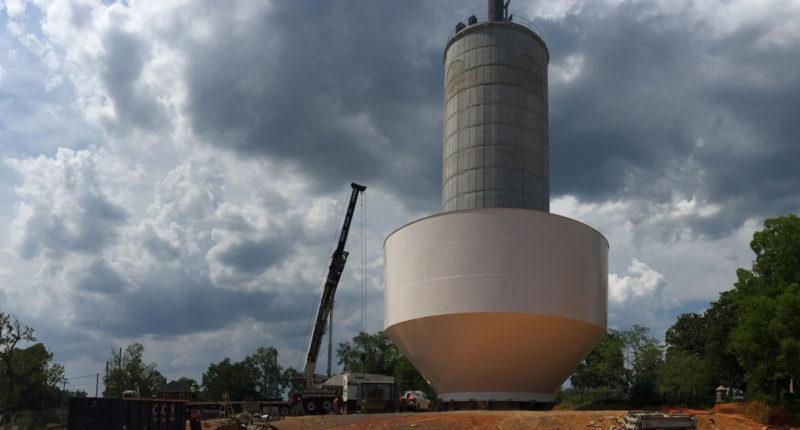Laurel Street Water Line and Elevated Tank – Wiedeman